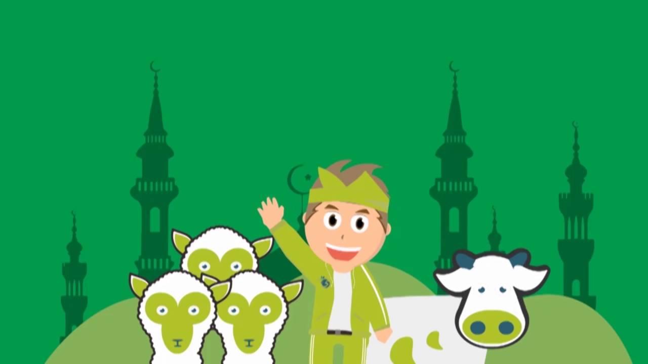 Selamat Hari Raya Haji Cartoon - Nusagates