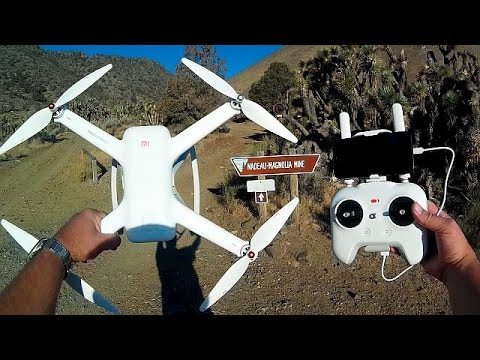 Xiaomi Mi Drone Review Abandoned Gold Mine
