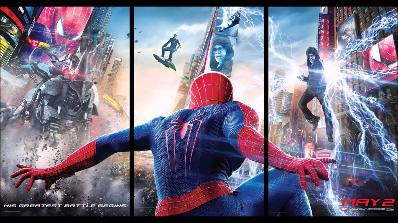 The Amazing Spider Man 2 Soundtrack Electro Suite
