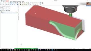 SprutCAM: операция 3D Contour. Задание многослойной обработки