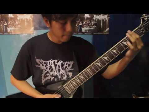 Guttural Disease - Periodical Torment (Guitar Playthrough)