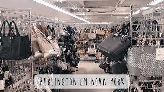 COMPRAS EM NOVA YORK? LOJA BURLINGTON I NY