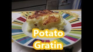 Potato Gratin - Sformato di Patate - Italian recipe