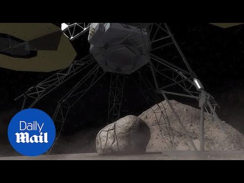 NASA plans to grab boulder from asteroid and set it in orbit - Daily Mail