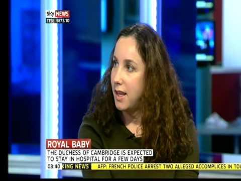Duchess of Cambridge Kate Middleton Pregnancy: Tatler on Sky News