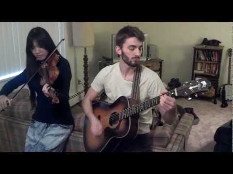 Angela and Dean cover Pink Floyd's Wish You Were Here on guitar \u0026 violin!