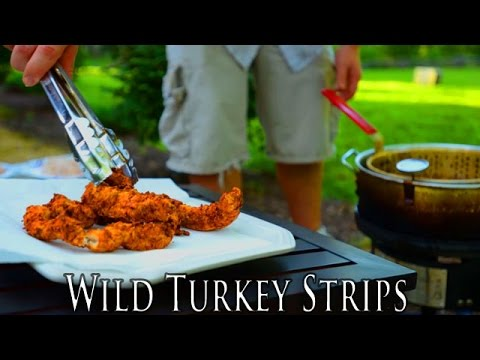 Wild Turkey Dipping Strips | Finger Lickin