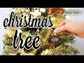 I HAVE TWO CHRISTMAS TREES?! | SIMPLE, RUSTIC-GLAM CHRISTMAS TREES 2018
