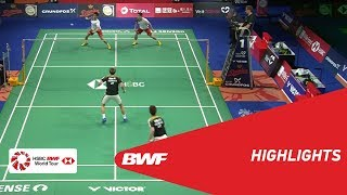 Download Video DANISA DENMARK OPEN 2018 | Badminton MD - QF - Highlights | BWF 2018 MP3 3GP MP4