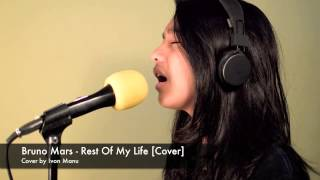 bruno mars rest of my life cover