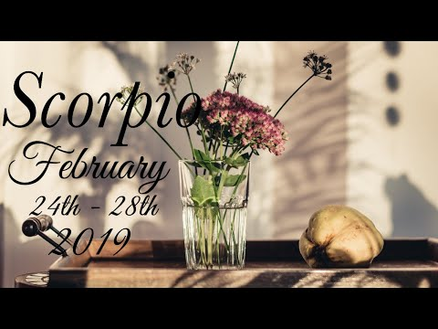 SCORPIO FEB 24th - 28th | DON'T MISS OUT ON TRUE LOVE - Scorpio Tarot Love Reading
