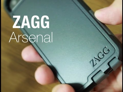 ZAGG Arsenal for iPhone 5/5s - Unboxing and Application
