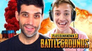 Assistindo Ninja JOGANDO PUBG Battlegrounds, ele era tão bom quanto no FORTNITE?