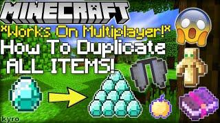 Minecraft duplication glitch