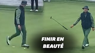 Voici comment Bill Murray joue au golf, façon Bill Murray
