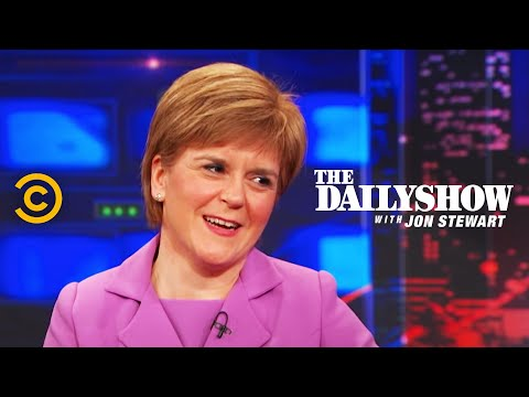 The Daily Show - Nicola Sturgeon Extended...