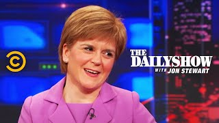 The Daily Show Nicola Sturgeon Extended Interview Pt 2