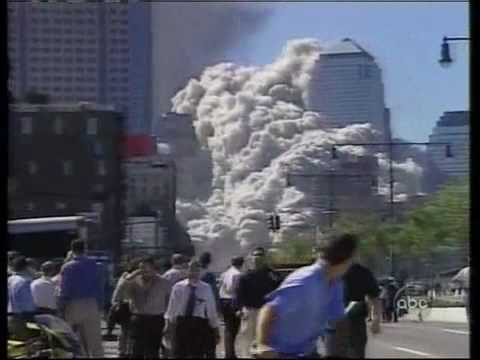 9/11 ABC News - ground zero, steel dust, WTC demolition