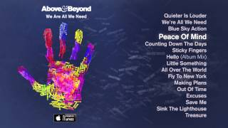 Above & Beyond - Peace Of Mind Feat. Zoë Johnston