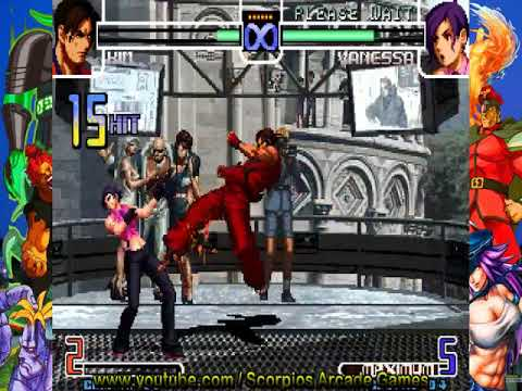 The King of Fighters 2002 - kim combos táticos (2.1) by Scorpios