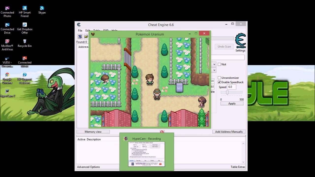 Pokemon reborn cheat engine download