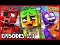 Gambar cover EPISODES #1-3 COMPILATION - Fazbear and Friends FNAF Series