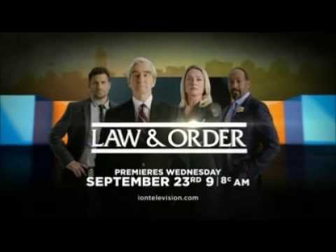 nbc 39 s law order premieres on ion television sept 23rd 9am 8c promo youtube. Black Bedroom Furniture Sets. Home Design Ideas