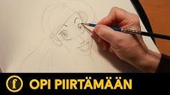 Opi piirtämään Ariel | Draw with Disney Animation