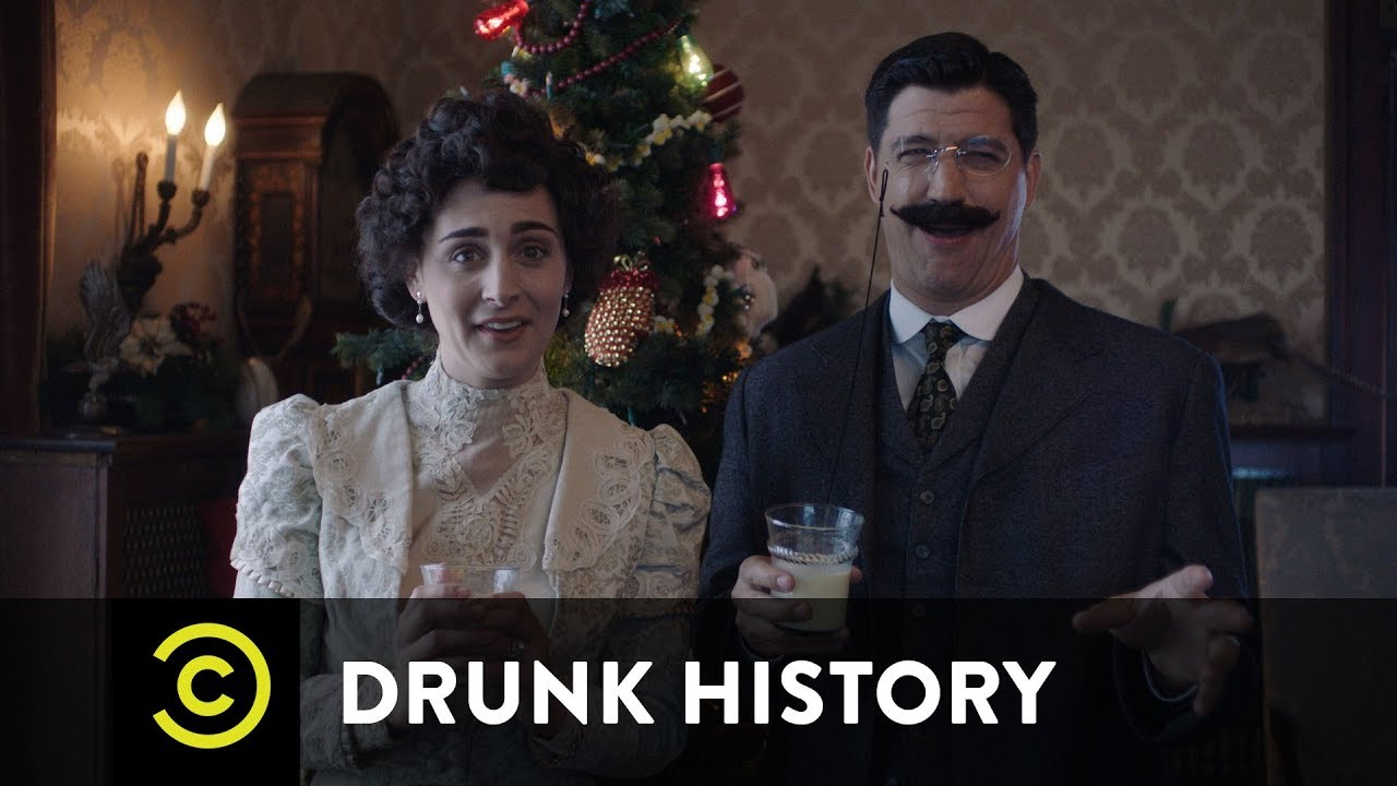Drunk History Christmas Special 2020 A Very Teddy Roosevelt Christmas   Uncensored   YouTube