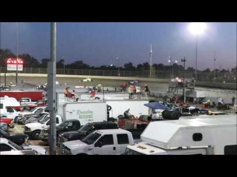 I 55 Raceway 7 15 2017 A Mod Heat Race #2 Dash & A Mod Feature