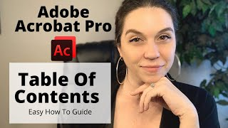 How to Create A Table of Contents In Adobe Pro // Easy Guide