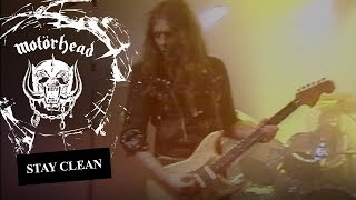 Motörhead – Stay Clean (Official Video)