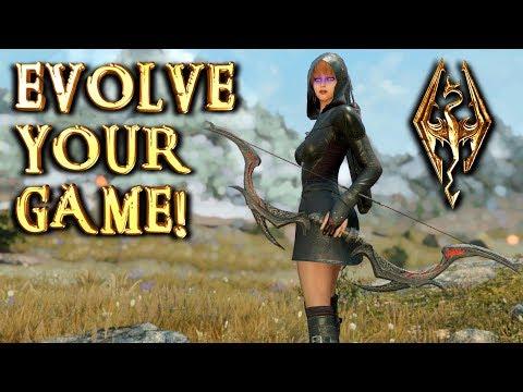 SECRET OF EVOLUTION - Skyrim Mods & More Episode 75