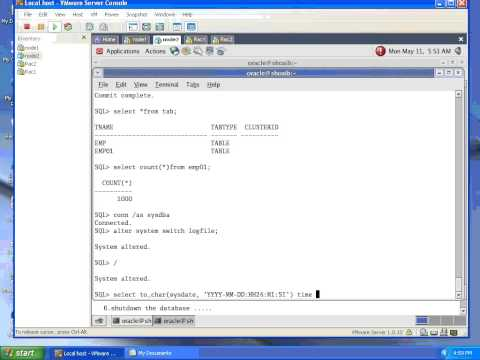 HOW TO RECOVER ORACLE DATABASE USING COLD BACKUP !!!