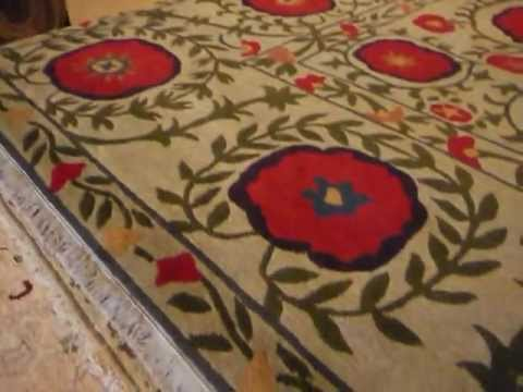 Good The Poppy Rug By Tibet Rug Company