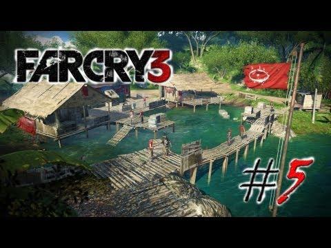 """Смотреть прохождение игры Far Cry 3. Серия 5: """"Штурм лесного поселка."""""""
