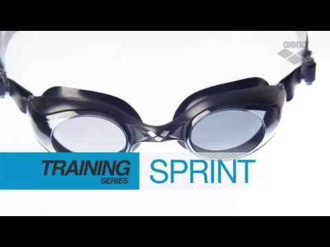 6046cb2d9cbe1 Arena Sprint Training Goggles Schwimmbrillen - Aquasel - YouTube