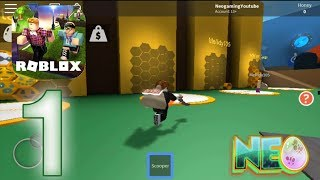Roblox: Gameplay Procédure pas à pas Partie 1 - Bee Swarm Simulator #1 (iOS - Android)