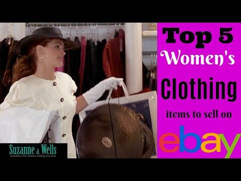 What Clothing Sells Best on eBay? Top 5 Womens Items