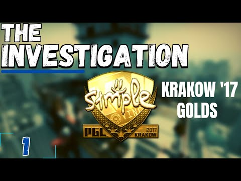 Investing into the 'OG' Player Gold Stickers | The 'Investigation' #1 | Krakow 2017 Golds