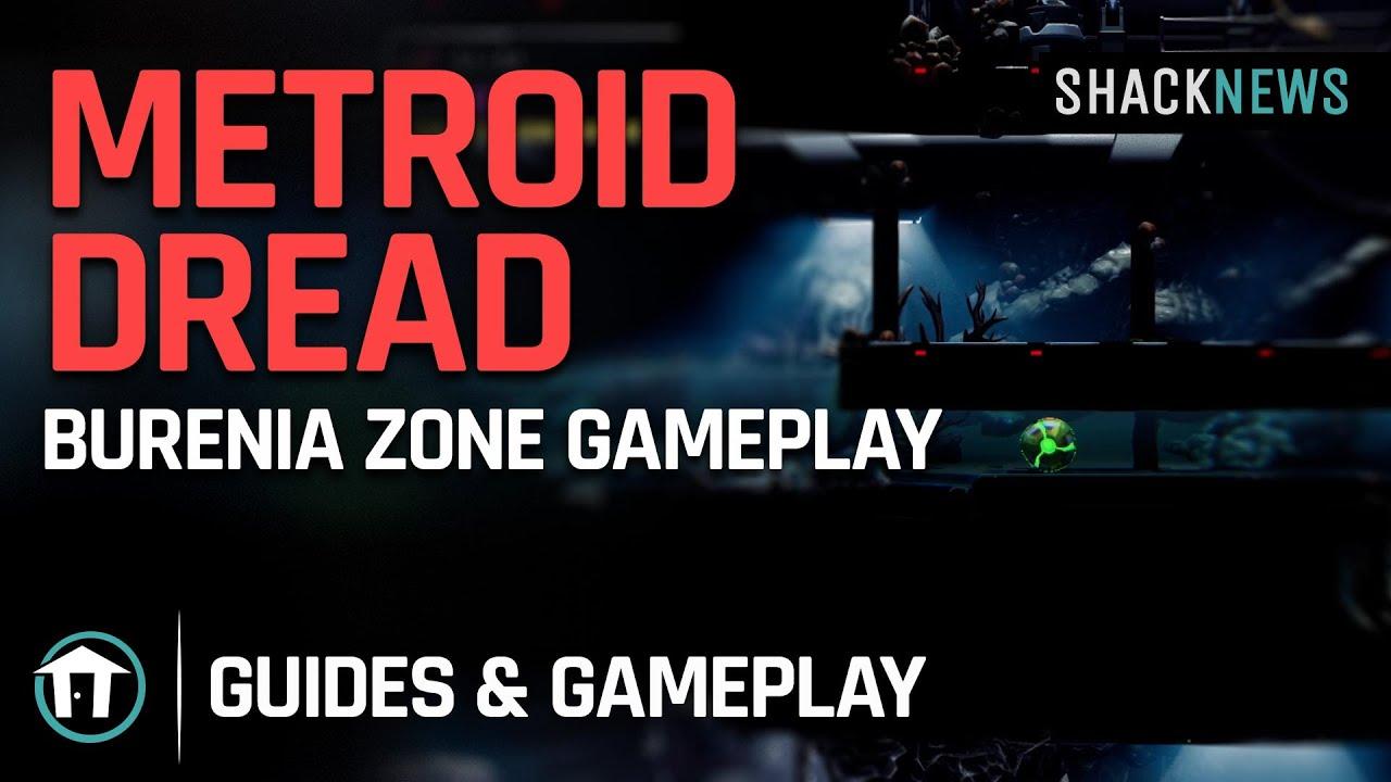 Download Metroid Dread  - Burenia Zone Gameplay