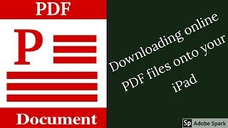 Download How to save online PDF files onto your iPad 2018| Paperless Student Mp3 and Videos