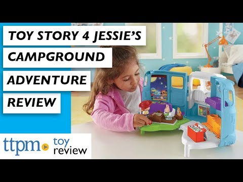 Toy Story 4 Jessie's Campground Adventure From Fisher-Price