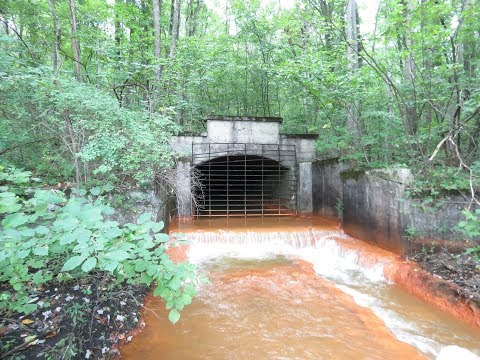 Toxic Water From Abandoned Mine Tunnel
