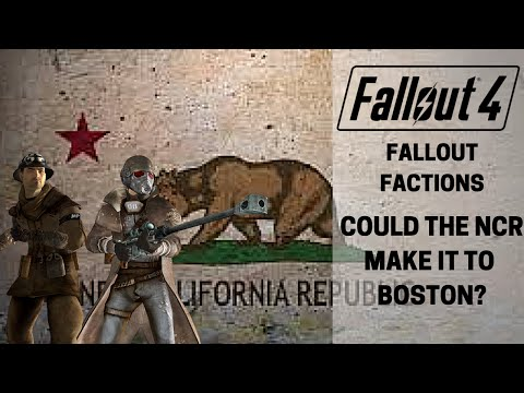 Fallout 4: Fallout Factions: NCR in Boston?