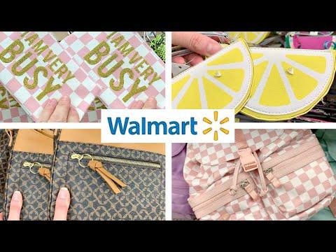 WALMART SHOPPING!!! *NEW* SPRING + SUMMER HANDBAGS, BACKPACKS + FANNY PACKS!!!