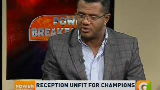 Power Breakfast: Reception unfit for champions