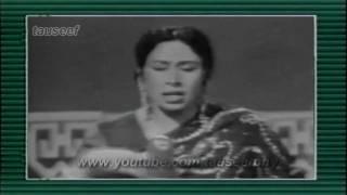 Iqbal bano live on PTV-  Piya baajh  piyaala piyaa jaaye naa