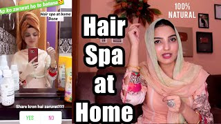 Get Smooth, Silky, Manageable Hair with Natural Spa at Home