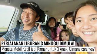 Download ORGANIZE | Membuat Kamar di Dalam Mobil | Serunya Perjalanan lewat Tol Trans Jawa